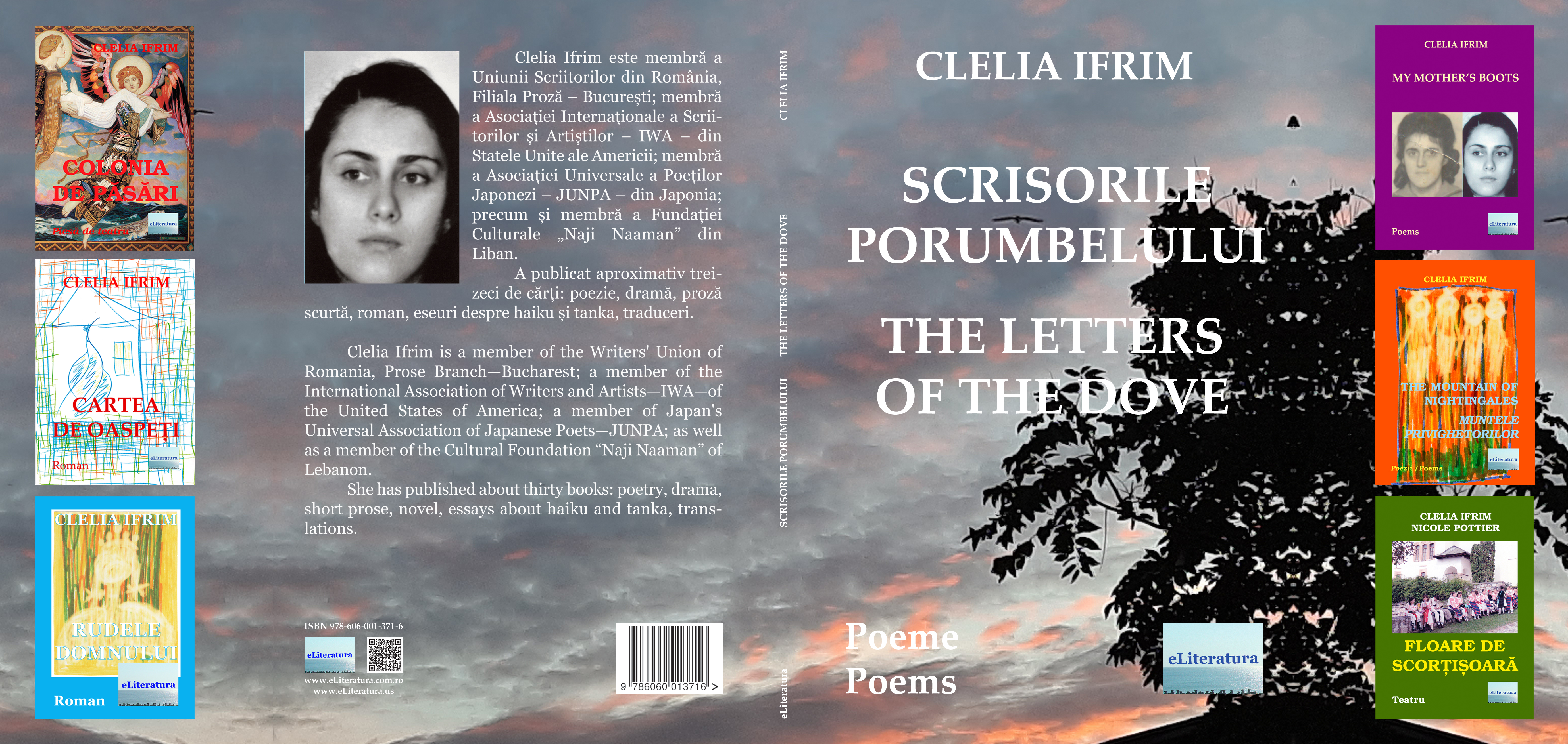 Scrisorile porumbelului: Poeme. The Letters of the Dove: Poems